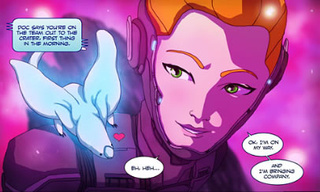 Pink Planets and Killer Pumpkins Dominate DC's Online Comics Competition