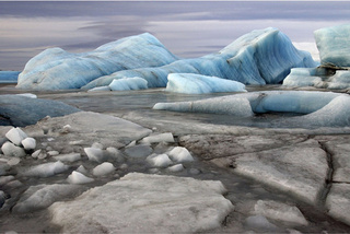 Photographer Documents Melting Icecaps, Celebrates Our Cyborg Evolution