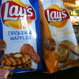 New Chicken & Waffle, Sriracha-Flavored Lay's Potato Chips Allegedly Spotted in the Wild