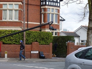 Sarah Jane Adventures Set Pics