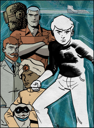 Comic Artists Take On Science Adventurer Jonny Quest