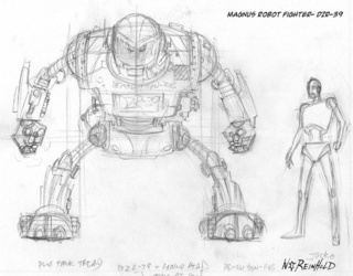 Exclusive: First look at Dark Horse's Magnus, Robot Fighter