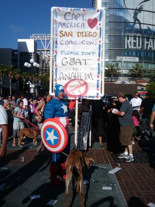 A final message from the fans to Comic-Con San Diego