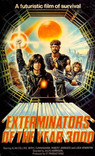 Exterminators of the Year 3000 = the Italian Mad Max rip-off that kicks Mel Gibson's ass