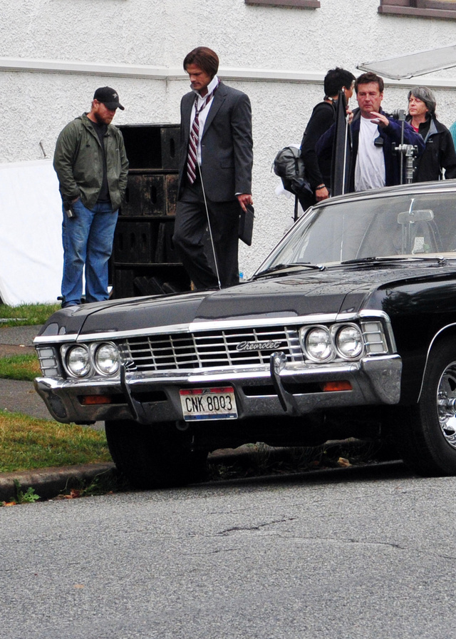 Supernatural Set Photos Gallery
