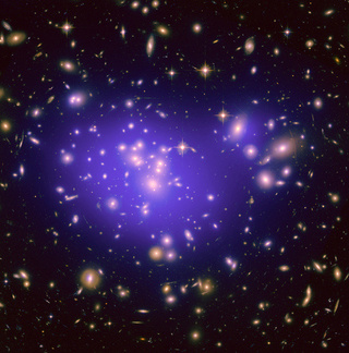 The first picture that really shows dark matter