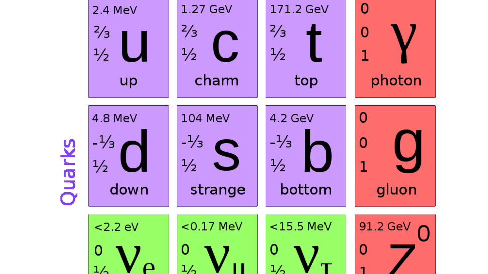The Ultimate Field Guide to Subatomic Particles: Elementary Particles Cheat Sheet