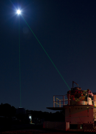 NASA shoots lasers at the Moon, because science is awesome