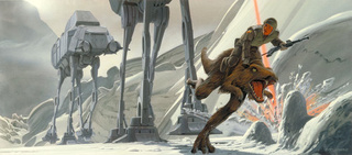 exclusive Empire Strikes Back concept art
