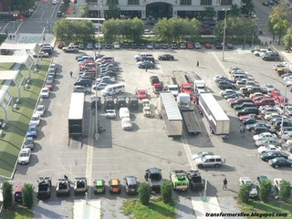 Transformers 3 Parking Lot Pictures