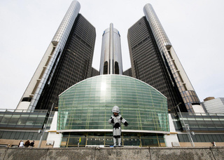 RoboCop Jr. defends dystopian Detroit