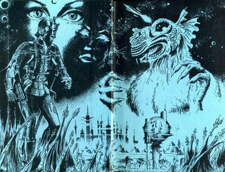 1970s French art from classic science fiction books