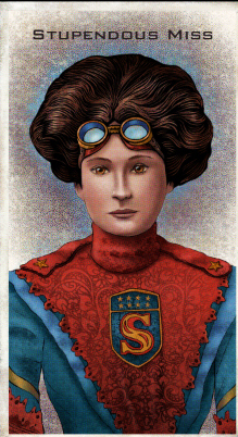 Victorian society gets a new union of superlative steampunk heroes