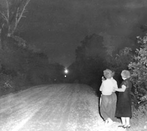 "The search for unexplained ""spook lights"""