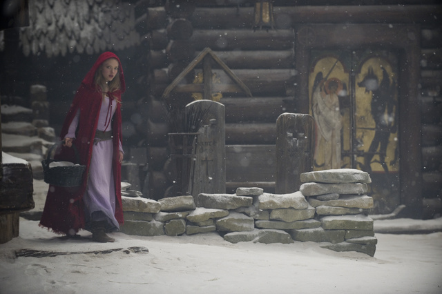 43 stills from Red Riding Hood, full of snow, sex, fur and S/M-wear