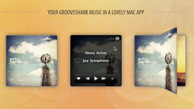 Shiny Groove is a Tiny, Good-Looking Grooveshark Player for Mac