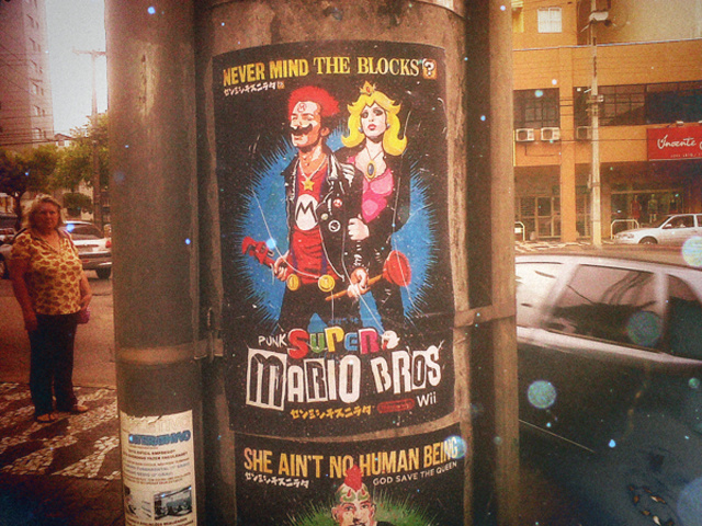 God Save Mario The Anarchist