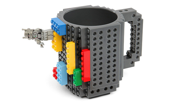 Click here to read A Few Lego Pieces Transform This Studded Mug Into Whatever You Can Imagine