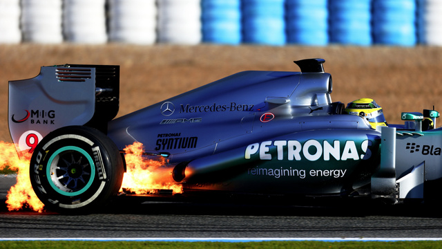 Ferrari's Formula One Car Has Already Caught On Fire