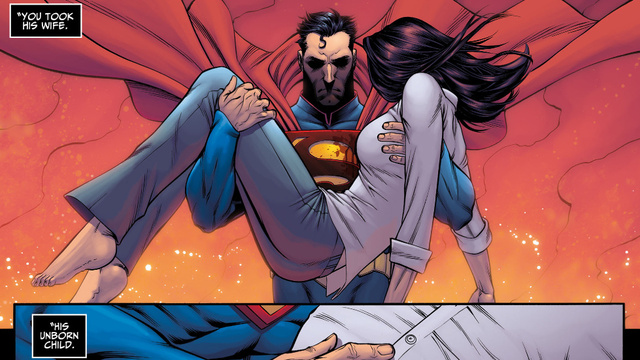 In This Week's Injustice Comic, Superman Does the One Thing Batman Never Would