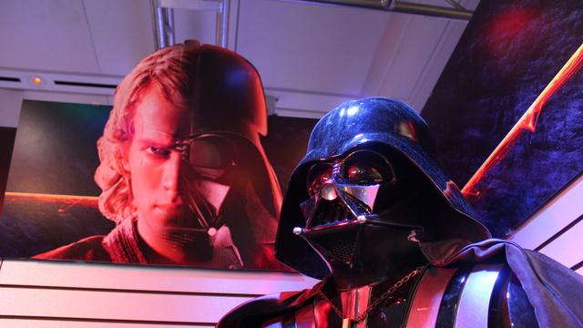 Click here to read The Origin of Darth Vader: The New Star Wars Figures at Toy Fair