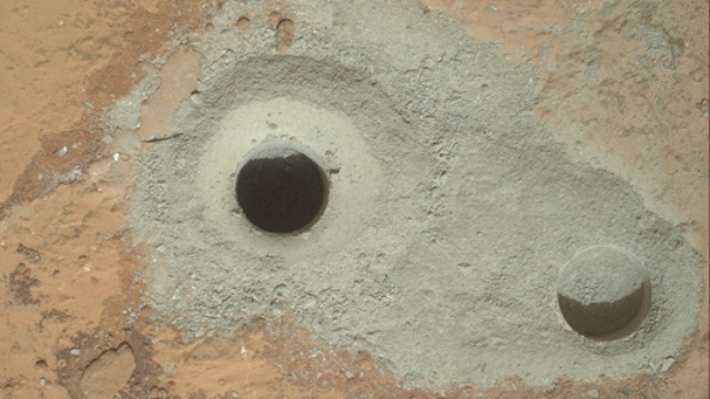 Click here to read Mars Rover Curiosity Has Successfully Drilled for the First Ever Sample of Mars' Virgin Bedrock