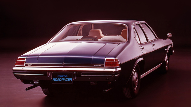 The Mazda Roadpacer Was A Big Holden With A Rotary Engine For Some Reason