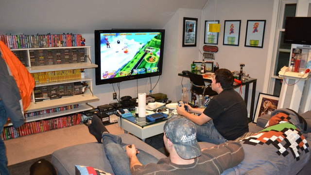 "A Gaming Room For Which The Word ""Room"" Doesn't Really Do It Justice"