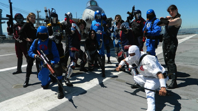 Click here to read Seriously Amazing (and Funny) G.I. Joe Cosplay on a Real Aircraft Carrier