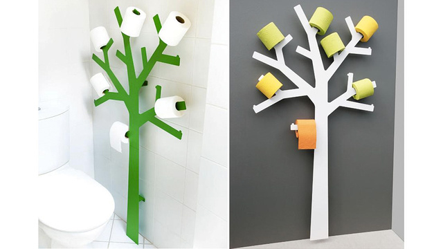Adorable Toilet Paper Tree