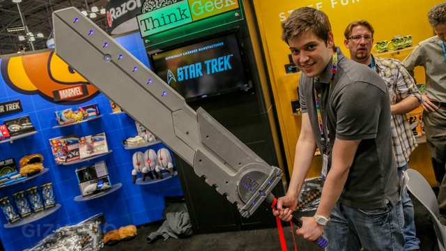Whip Up a Bewildering Nerdy Decor With This Giant Sword and Arcade Scented Candles