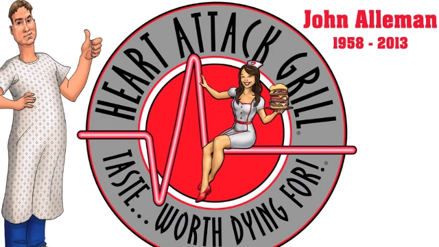 Heart Attack Grill Mascot 'Patient John' Alleman Dies of a Heart Attack