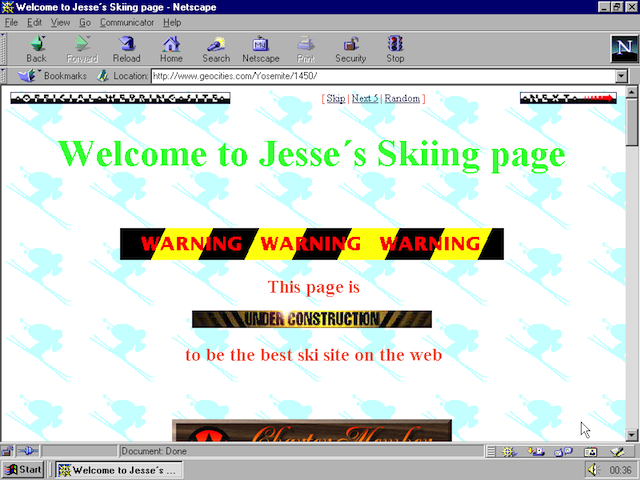 Remember the Hilarious Horror of Geocities with This Website