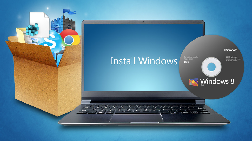 how to do clean install windows