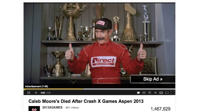 The Caleb Moore Crash: Watching Someone Die on YouTube for Fun and Profit