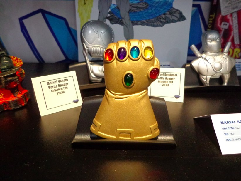 The Infinity Gauntlet Bottle