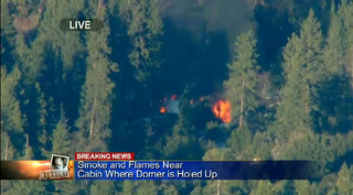 Christopher Dorner Believed Dead; LAPD Denies Reports That His Body Was Recovered in Burning Cabin