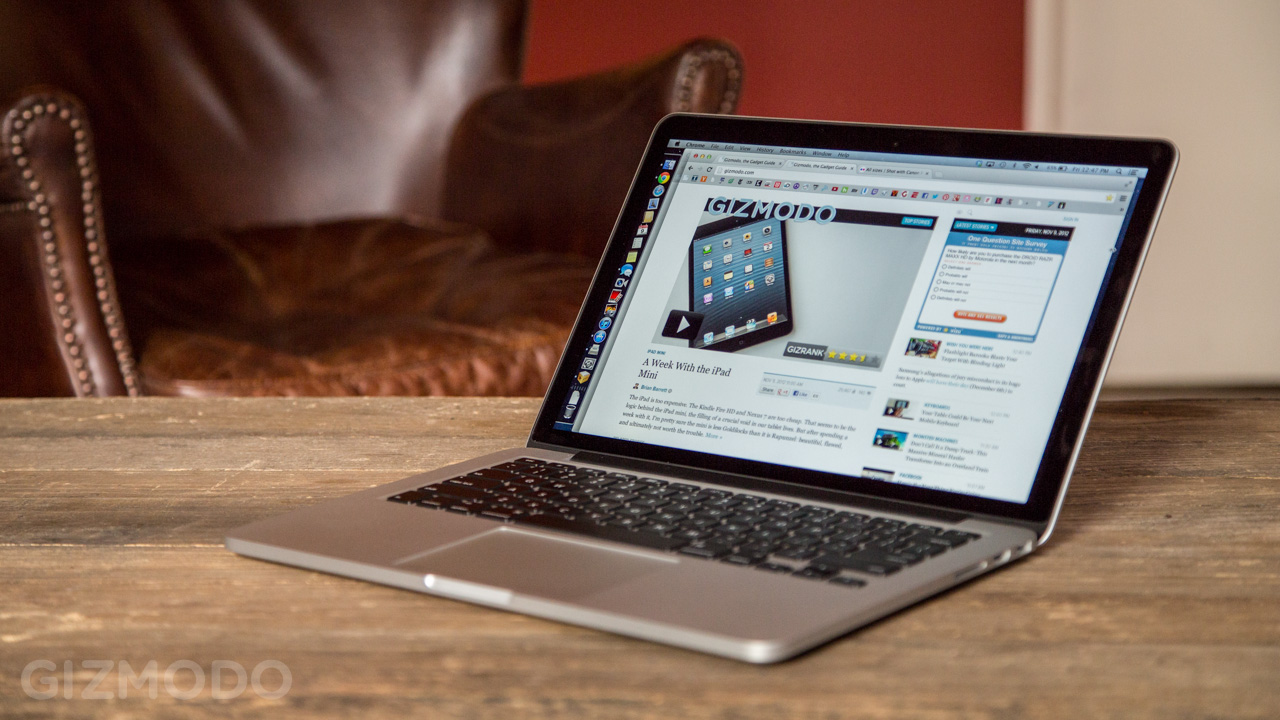 The 13-inch Retina MacBook Pro Just Got $200 Cheaper