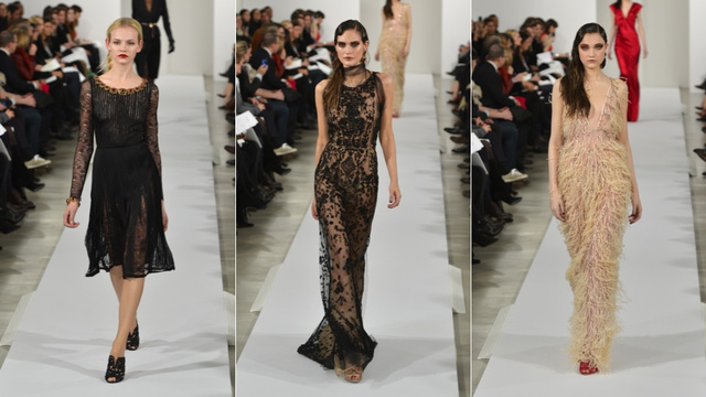 Oscar de la Renta, for the Duchess With Dark Secrets in You