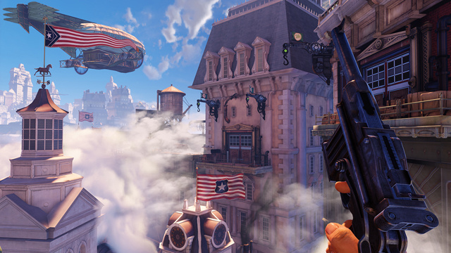 BioShock Infinite's Lead Creator on History, Video Game Violence and... What Happens to the Sewage in a Floating City?