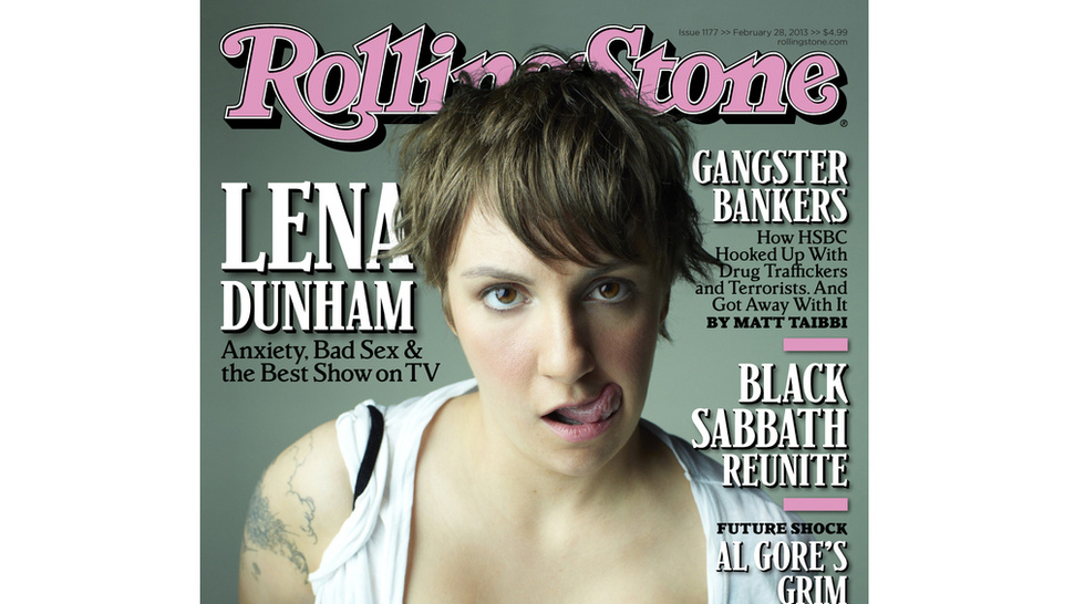 Lena Dunham Lands Cover of <em>Rolling Stone</em>, Discusses Her 'Childhood Fear of Sex'