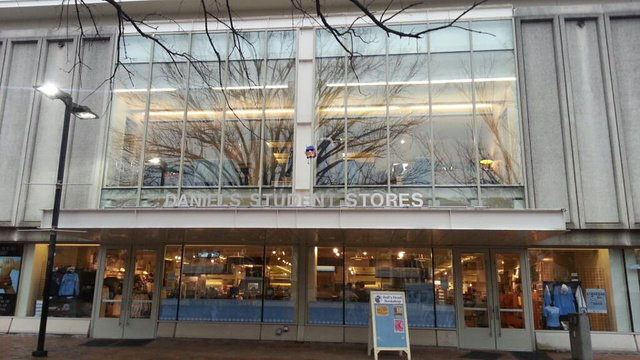 Someone Impaled The Duke Mascot's Head On A Stake Above UNC's Campus Store