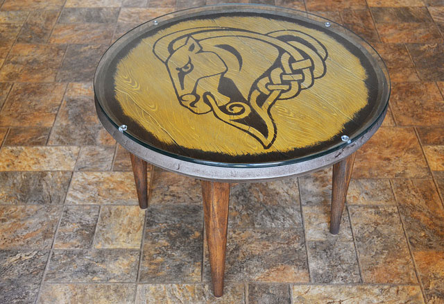 You'll Kill Giants For This Skyrim Shield + Coffee Table Combo