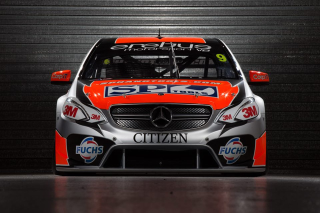 Erebus/SBR Finally Reveal Their Mercedes E63 AMG Bodied V8 Supercar