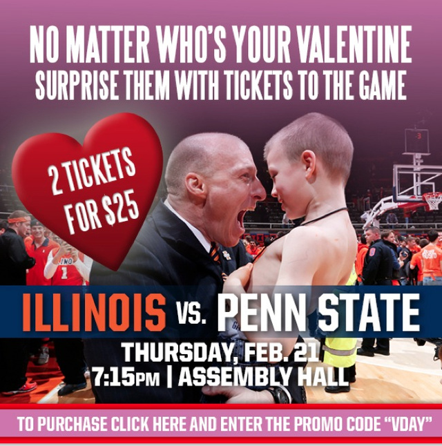 The Fighting Illini Ticket Office Chose An Unfortunate Picture To Advertise The Penn State Game