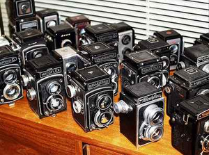 This Insane Camera Collection on Ebay Can Fill a Room