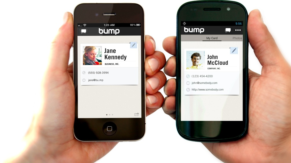 Bump Now Lets You Send Digital Goodies From Phones To Computers