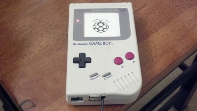 Click here to read Use an Old Game Boy as a Raspberry Pi Case