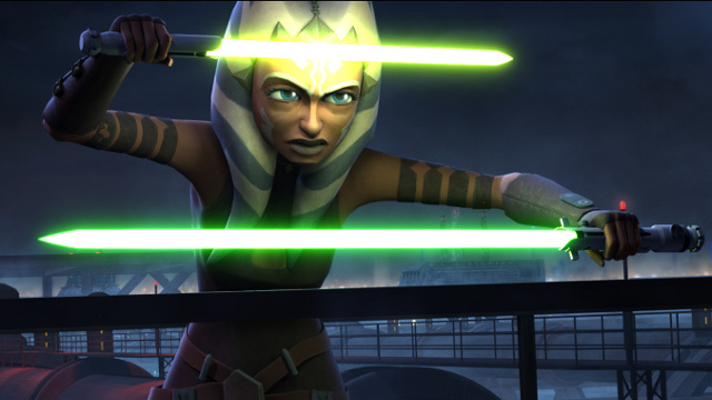 The beginning of the end for Clone Wars' Ahsoka?