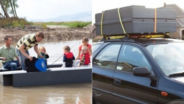 Click here to read A Foldable Boat Is Great for Saving Space, Probably Less Great for Staying Alive